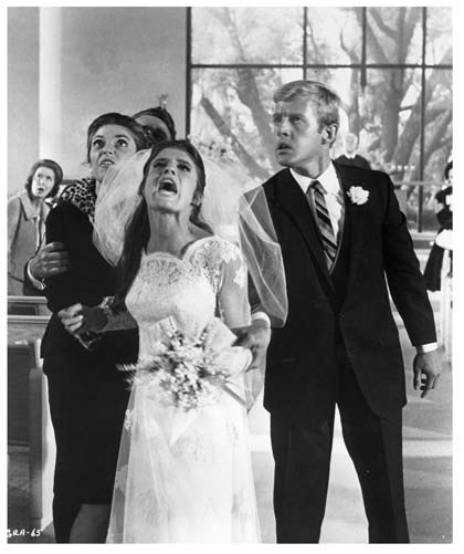 The Graduate Wedding Scene