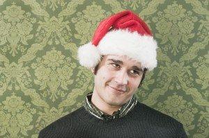 man_santa_hat