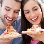 couple pizza date