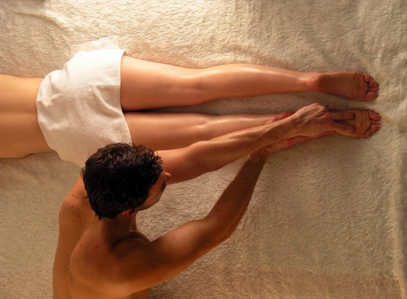Sexual arousal during massage therapy
