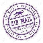 13864725-Grunge-rubber-stamp-with-small-stars-and-the-word-Air-Mail-inside-Stock-Vector